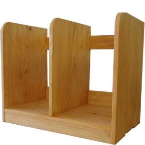 木製ブックスタンド(幅40センチ)本棚 (ナチュラル) 受注製作|angelsdust