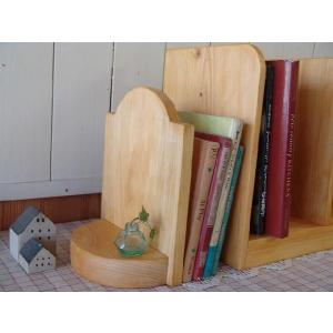 木製ブックエンド 本棚 (ナチュラル) 受注製作|angelsdust
