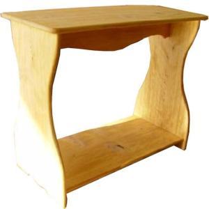 シェルフ  ベンチタイプ ナチュラル w53d25h44cm 置き型 飾り台 木製 ひのき 受注製作|angelsdust