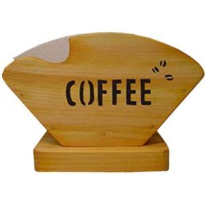 コーヒーフィルターケース コーヒーミルくりぬき ナチュラル w18d8h12cm コーヒーペーパーケース 木製 ひのき 受注製作|angelsdust