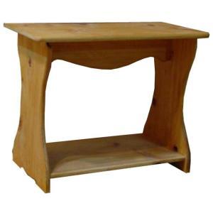 シェルフ ベンチタイプ ナチュラル w46d25h36cm 置き型 ミニサイズ 木製 ひのき 受注製作|angelsdust