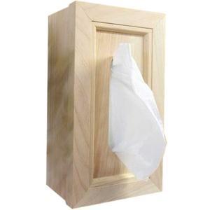 壁掛けティッシュボックス 木製 ひのき ティッシュケース ティッシュカバー 縦横兼用 直付けタイプ(ライトオーク)受注製作 angelsdust