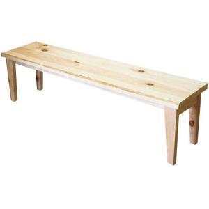 ウッドベンチ アンティーク調家具 木製ひのき ガーデンベンチ 木製チェア 天然木 縁台 腰掛 角型椅子 サポートチェア 150×35×40cm ライトオーク 受注製作|angelsdust