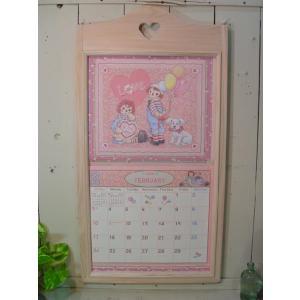 無塗装白木 カントリーハートの木製カレンダーフレーム 受注製作|angelsdust