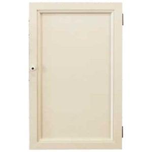 ジュエリーケース 壁掛け 木製扉 アンティークホワイト w25d7h40cm フック付き 木製 ひのき 受注製作|angelsdust
