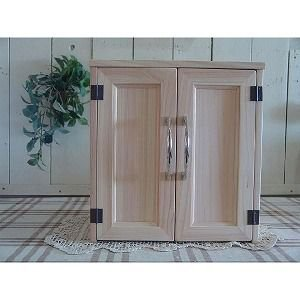 ペットのお仏壇 木製ひのき 木製扉 棚なし ペット用メモリアルハウス(無塗装白木)受注製作|angelsdust