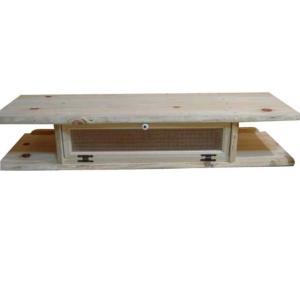 無塗装白木 チェッカーガラスのテレビ台(W120×H22cm)受注製作|angelsdust