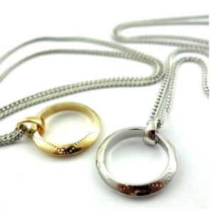 模様入りリングトップネックレス オルテガ クリスマス インディアン 指輪 ユニセックス angelshokora
