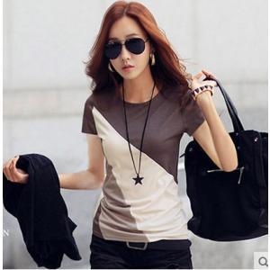 【即納】色切り替えTシャツ全2色 レディース 大きいサイズ|angelshokora