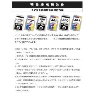 キヤノン 互換 BC-310BK / BC-345BK(顔料ブラック)+BC-311CL / BC-345CL(C/M/Y) 共用可 各1本セット 詰め替えインク 日本国内検品梱包 angelshop-y 06