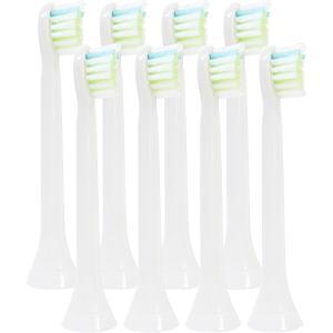 動歯ブラシ用 互換 替え 8本セット フィリップス ソニッケアー ダイヤモンドクリーン 対応 HX6074 HX6072 ミニサイズ|angelshop-y
