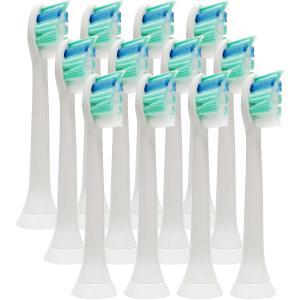 ソニッケアー 替えブラシ 電動歯ブラシ用 互換 フィリップス Philips 12本セットプロリザル...