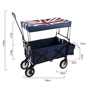 デザイン:【英国イギリス国旗青】 骨組みカラー:黒 体荷重:100kg ※サイズは画像にてご確認くだ...