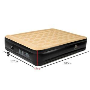内蔵の電動ポンプは、3*5分ですばやく膨張または収縮します。高品質のハニカムの凹凸のデザインは、ベッ...