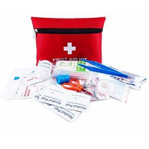 サイズ:約20x14x4.5cm。素材:防水オックスフォード生地。当救急セットは、お客様のお好みで自...
