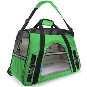 Sportgosto バックドッグバッグアウトバッグ車犬のケージ犬小屋暖かい通気性の携帯用犬のバッグ (色 : オレンジ, サイズ : L)の画像