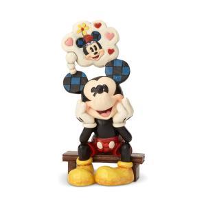 ミッキー シンキング オブ ユー ディズニー グッズ 置物 Disney Traditions 誕生日  グッズ フィギュア 置物   動物  置物 ギフト 返品交換不可|angelsrobe