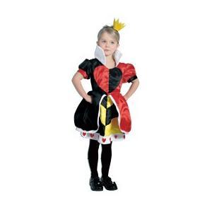 ルービーズ社 ハートの女王(ヘッドピース付き) 子ども用コスチューム ≪ネコポス不可商品≫ ≪返品交換不可≫[M便1/0]|angelsrobe
