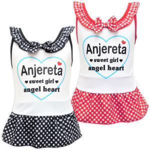 セール【水着】Anjereta ワンピース水着/トドラー/キッズ/女児(100cm〜130cm)海 プール 女の子 可愛い|angelsrobe