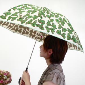 レディース【グリーン リボン 長傘】 ≪ネコポス不可商品≫|angelsrobe