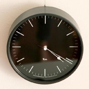 【送料無料】 RIKI STEEL CLOCK (リキ スチールクロック)電波時計|angers