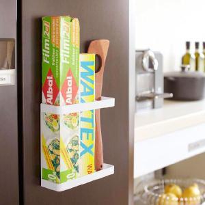 tower マグネットラップホルダー タワー ブラック おしゃれ雑貨 おすすめ 人気   キッチン用品の商品画像|ナビ