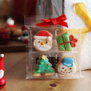 クリスマス アイシングクッキー 4個入り|angers