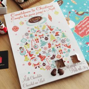 ヨーロッパをリードするチョコレートブランドCEMOI(セモア)から、クリスマスまでのカウントダウンを...