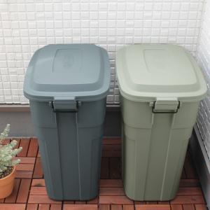 雨風や衝撃に強い ゴミ箱 50L 日本製 安心の3年間保証付き (21%OFF)【送料無料】 |angers