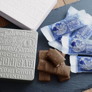 トローニ バーチ/チョコレートヌガー缶/Torroni Baci