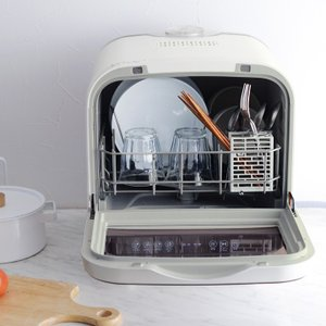 工事不要で設置できる食器洗い乾燥機。お皿洗いが時短でき、子育て世代やお年寄りの暮らしを助けます。最大...