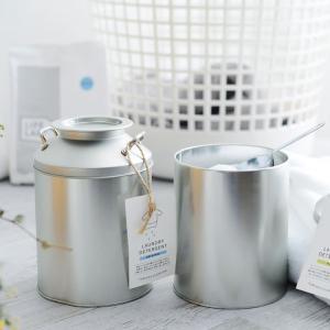 洗たく洗剤・石けん / 10%OFFクーポン対象商品 オリジナル洗濯洗剤プラス ミルク缶とみおかクリーニング/ クーポンコード:HHJ7YTCの商品画像 ナビ