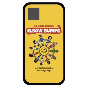 soccer junky iPhoneケース ELBOW BUMPS angeviolet