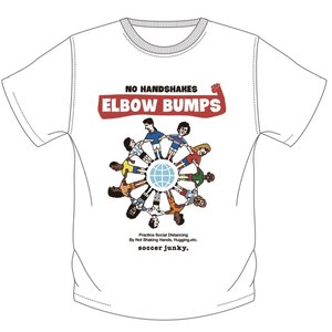 soccer junky ELBOW BUMPS(半袖TEE)|angeviolet