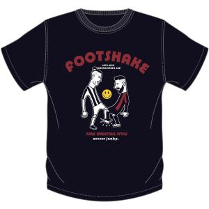 KIDSサイズ soccer junky FOOTSHAKE(半袖TEE)|angeviolet