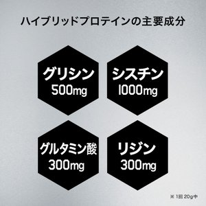 プロテイン 男性用 メンズ スカルプD サプリメント ハイブリッドプロテイン(ヨーグルト味)大容量1,200g 【送料無料】|angfa|05