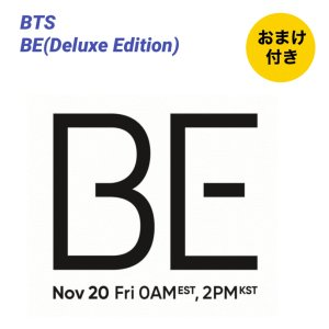 新品 国内発送 おまけ付き BTS BE(Delux Edition) CD(韓国盤)防弾少年団 fa259 angieseoul