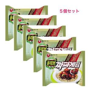 5食入り  農心 チャパゲティ韓国 食品 xa012-1|angieseoul