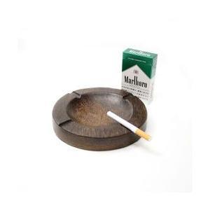 ココナッツの灰皿丸型 Lサイズ アジアン雑貨 バリ雑貨 エスニック おしゃれな灰皿|angkasa
