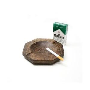 ココナッツの灰皿 八角形 Lサイズ アジアン雑貨 バリ雑貨 エスニック おしゃれな灰皿|angkasa