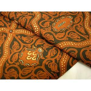 バティックソロトゥリス茶 アジアン雑貨 バリ雑貨 バティック布 エスニック|angkasa