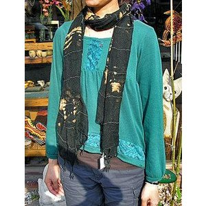 エスニック アジアン ストール F レディース メンズ おしゃれなストール アジアンファッション アジアン雑貨 バリ雑貨 タイ|angkasa