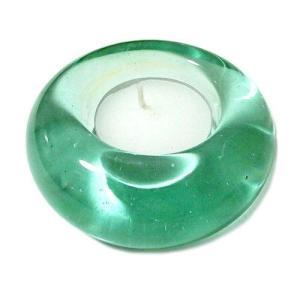 ガラスのキャンドルホルダー クリアー アジアン雑貨 バリ雑貨 エスニック おしゃれな ガラス|angkasa