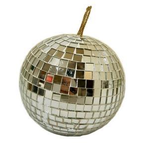 モザイクガラスのミラーボール 直径12cm アジアン雑貨 バリ雑貨|angkasa