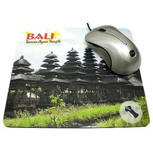 アジアン雑貨 バリ雑貨 バリ マウスパッド E タマンアユン寺院 メール便OK |angkasa