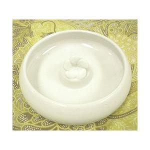 タバナン 灰皿 フランジパニ ホワイト アジアン雑貨 バリ雑貨 おしゃれな かわいい灰皿|angkasa