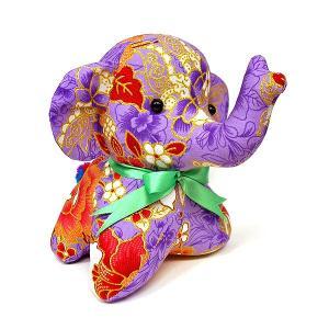 エスニック柄 ゾウのぬいぐるみ C ゾウインテリア 象 置物 アジアン雑貨 バリ雑貨 バティック布 エスニック angkasa
