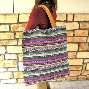 布製 ジャガード織り モン族 トートバッグ I ショルダーバッグ アジアン雑貨 バリ雑貨 タイ雑貨 エスニック|angkasa