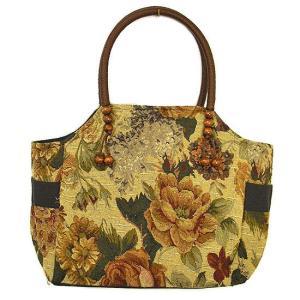 布製 トートバッグ B 薄グレー系 織り 刺繍 ショルダーバッグ アジアン雑貨 バリ雑貨 タイ雑貨 エスニック|angkasa