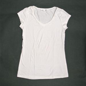 レディース 半袖 Tシャツ Mサイズ ホワイト [着丈55〜60cm] アジアンファッション アジアン雑貨 バリ雑貨 タイ雑貨 |angkasa